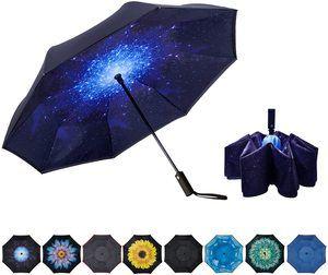 #7. Automatic folding Upside Down Umbrella