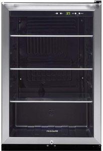 #8. FFBC4622QS FFBC4622QS22 Glass Door refrigerator with mini-fridge design