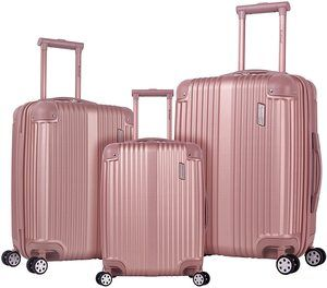 #8. Rockland Berlin Hardside Luggage Set