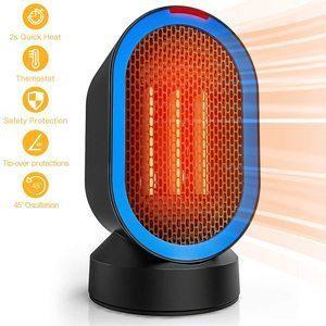 1. toyuugo 600W Indoor Electric Ceramic Desk Heater