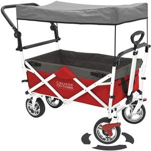 #10. Creative Outdoor Collapsible Wagon for Kids