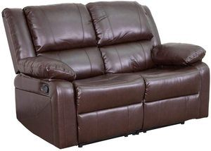 2. Flash Furniture Harmony Series LeatherSoft Loveseat