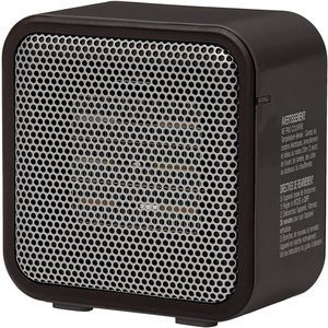 4. AmazonBasics 500W Ceramic Personal Mini Heater