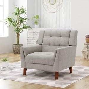 6. Christopher Knight Home Modern Fabric Arm Chair