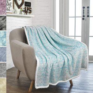 #6. POVEGLIA Softest Fleece Blanket