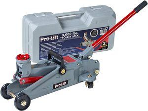 6. Pro-LifT F-2315PE Grey Hydraulic Trolley Jack