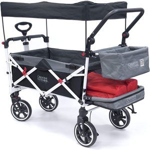 #7. Creative Outdoor Distributor Collapsible Wagon for Kids