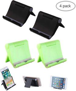 8. Elimoons 4 Pack Multi-Angle Cell Phone Stand