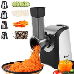 8. Homdox 150W Electric Slicer Shredder