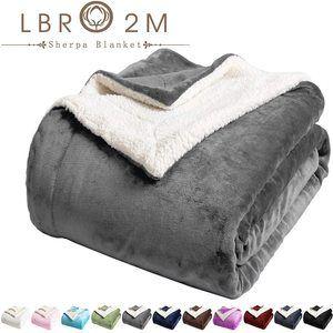 #8. LBRO2M Softest Fleece Blanket