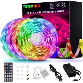 3. Tenmiro Ultra-Long RGB LED Lights Strip