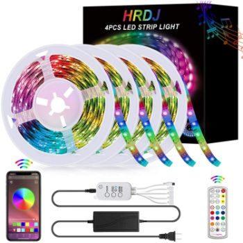 6. HRDJ Music Sync RGB LED Strip