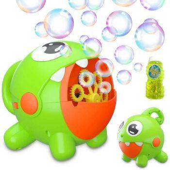 7. Bubble Toy for Kids Automatic Bubble Machine
