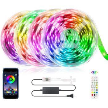 8. ZATAYE Ultra-Long Music Sync RGB Lights