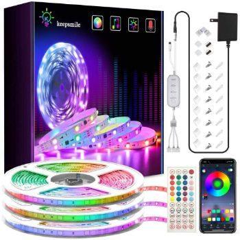 9. Keepsmile Ultra-Long RGB Led Lights Strip