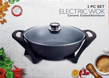 10. Chef's CCounter Electric Wok