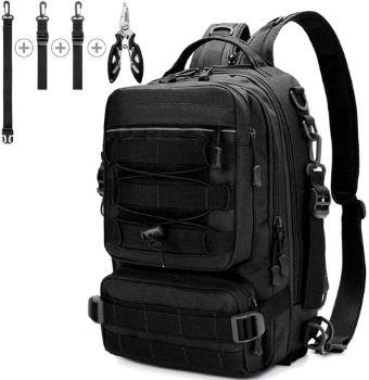 10. Meprona Fishing Tackle Backpack