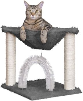 #2. Furahaven Pet Cat Tree Entertainment Playground