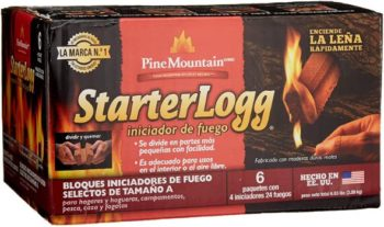 #2. Pine Mountain StarterLogg for Firepit