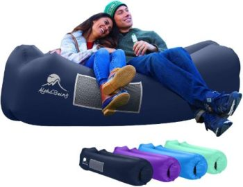 3. AlphaBeing Inflatable Lounger for Picnics or Festivals