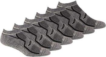 #3. Saucony Men's Multi-Pack No-Show Socks