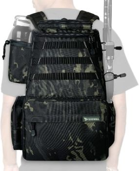 3. YVLEEN Fishing Tackle Backpack