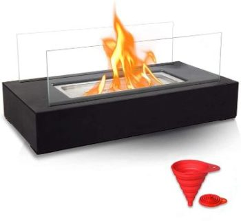#4. BRIAN & DANY Ventless Tabletop Portable Fire Bowl Pot