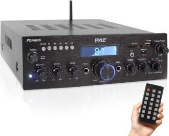 4. Pyle PDA6BU.5 Bluetooth Amplifier