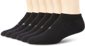 #5. Champion Men's 6 Pack No Show Socks