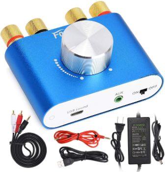 5. Facmogu F900 Mini Bluetooth Amplifier