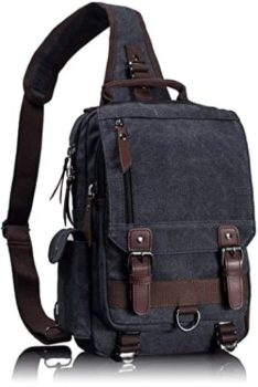 5. Leaper Retro Messenger Bag, Sling Bag