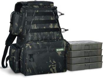 5. Rodeel Fishing Tackle Backpack