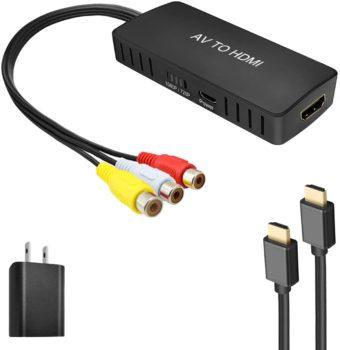5. RuiPuo RCA to HDMI Converter