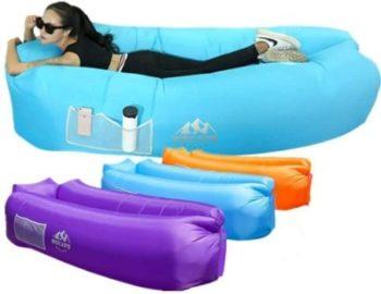 5. Wekapo Inflatable Lounger Air Sofa Hammock