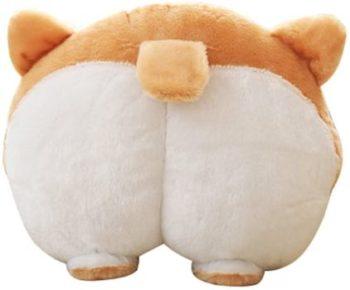 5. YOMESTE Corgi Cute Butt Throw Pillow Animals Stuffed Toy
