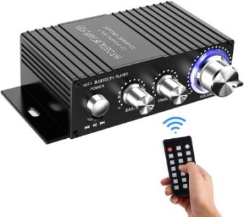 6. DUTISON Bluetooth Stereo Mini Amplifier