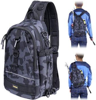 6. PLUSINNO Fishing Tackle Backpack