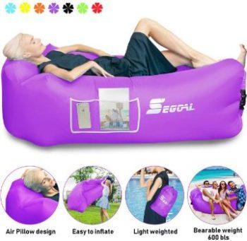 6. SEGOAL Inflatable Lounger Air Sofa Beach Bed