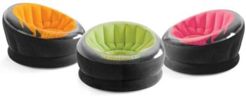 7. Intex Inflatable Empire Chair, Color May Vary, 1 Pack