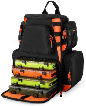 7. Magreel Fishing Tackle Backpack