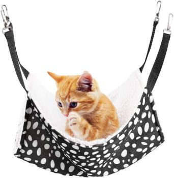 #7. Rolybag Pet Cage Hammock