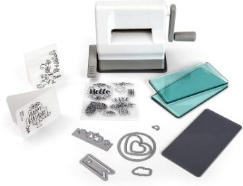 7. Sizzix Sidekick Starter Kit 661770 Die Cutting & Embossing Machine