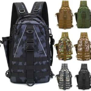 8. LUXHMOX Fishing Tackle Backpack