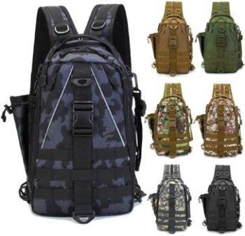 8. LUXHMOX Fishing Tackle Backpack