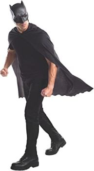 #8. Men's Batman Cape with Mask