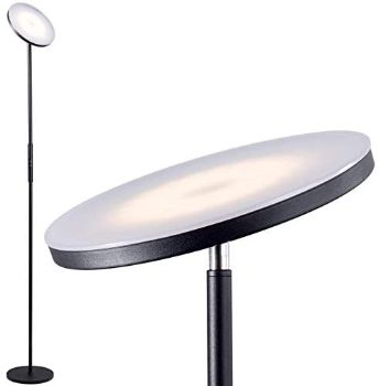 #9. Addlon LED Torchiere Floor Lamp