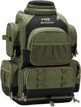 9. Bassdash Fishing Tackle Backpack