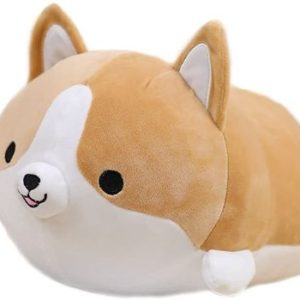 9. Cute Funny Corgi Dog Butt Plush Pillows Soft Toys