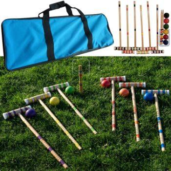 #9. Hey! Play! Croquet Set