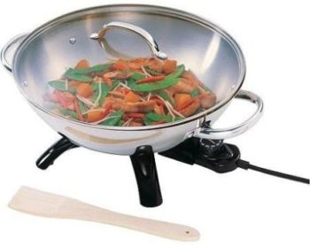 9. Supernon Presto Electric Wok